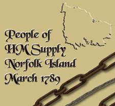 Supply March 1789 to Norfolk Island