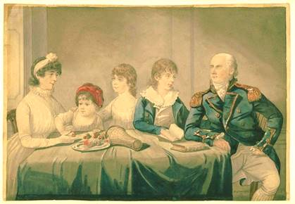 Philip Gidley King Family
