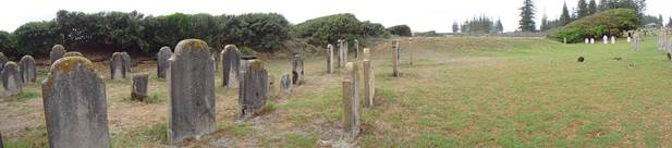 cemetery at Norfolk island