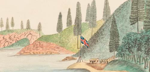 Ships to and from Norfolk Island 1788 to 1814