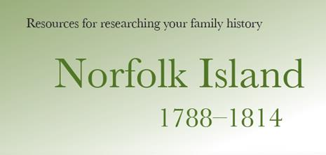 Norfolk island family history
